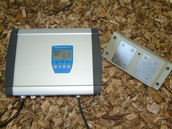 Biofiltro - Sistema di controllo dell'umidità della biomassa